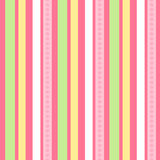 Pink green stripes | Seamless vector wallpaper Royalty Free Stock Photography