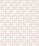 Pink, grey, geometric, seamless pattern, squares, background. Stock Photos