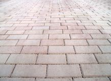 Pink and grey sidewalk. Street texture;pink stone sidewalk Royalty Free Stock Images