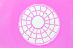 Pink grid background Stock Photography