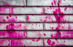 Pink grungy wall royalty free stock photography
