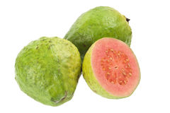 Pink guava fruit Royalty Free Stock Images