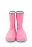Pink gum boots Royalty Free Stock Photos