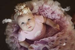 Pink, Hair Accessory, Infant, Doll Royalty Free Stock Photography
