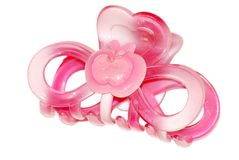 Pink hairpin Stock Photo