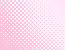 Pink halftone background Royalty Free Stock Photography