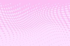 Pink halftone background. Digital gradient. Wavy dotted pattern with circles, dots, point large scale. Vector illustration. Pink halftone background. Digital royalty free illustration