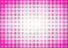 Pink Halftone background Polka Dots royalty free stock photography