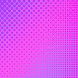 Pink Halftone Pattern Stock Image