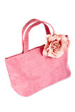 Pink handbag Royalty Free Stock Images