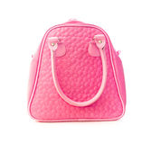 Pink handbag Stock Photo