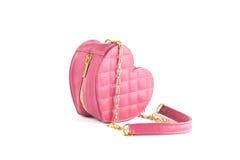 Pink handbag Royalty Free Stock Image