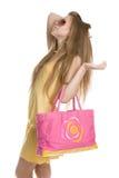 Pink handbag Royalty Free Stock Photography