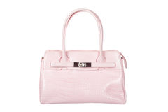 Pink handbag Stock Photo