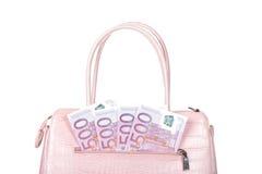 Pink handbag Royalty Free Stock Photo