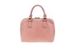 Pink handbag Stock Photos