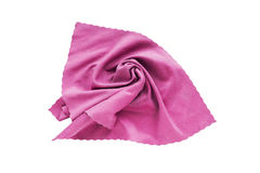 Pink handkerchief Royalty Free Stock Photography