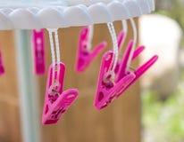 Pink Hanger Royalty Free Stock Photo