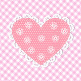 Pink Happy mothers day card Royalty Free Stock Photo