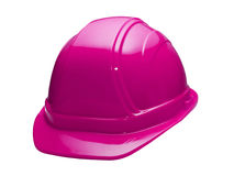 Pink Hard Hat Royalty Free Stock Photography