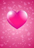 Pink Hart Stock Photography