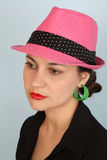 Pink Hat Stock Photography