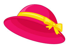 Pink hat Royalty Free Stock Image