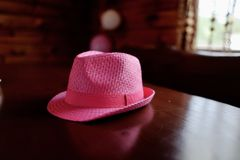 Pink hat Royalty Free Stock Photo