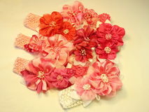Pink head bands Royalty Free Stock Images