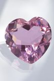 Pink Heart. Shape diamond.See more in my portfolio Stock Photo