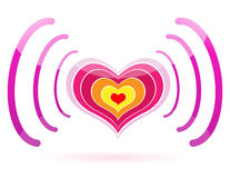 Pink heart Royalty Free Stock Photo