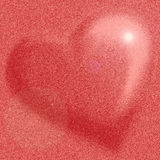 Pink Heart royalty free stock photography