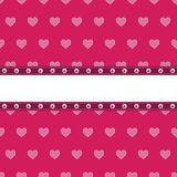 Pink heart background Royalty Free Stock Image