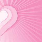 Pink Heart Background Stock Photo