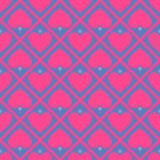 Pink heart background. Vector Illustration EPS 10 Royalty Free Stock Images