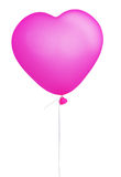 Pink heart balloon Royalty Free Stock Photos