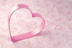Pink Heart Cookie Cutter Royalty Free Stock Photography