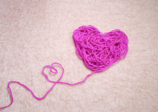 Pink heart. Stock Image
