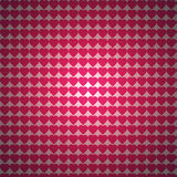 Pink heart pattern background Royalty Free Stock Photos