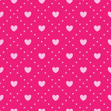 Pink heart pattern. This is file of EPS10 format Stock Image