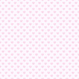 Pink heart seamless pattern background Royalty Free Stock Images