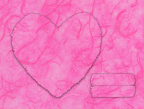 Pink heart shape Royalty Free Stock Photo
