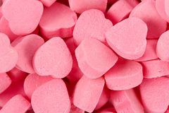 Pink Heart Shape Candy Royalty Free Stock Photo