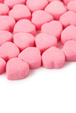 Pink Heart Shape Candy Royalty Free Stock Images