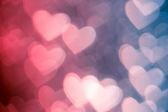 Pink heart shape holiday background Royalty Free Stock Photos