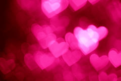 Pink heart shape holiday background Royalty Free Stock Images