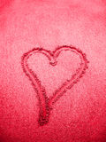 Pink heart sign Stock Photo