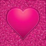 Pink heart, vector Stock Photo