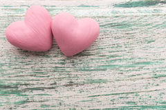 Pink heart. Royalty Free Stock Photo