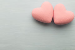 Pink heart. Stock Photo